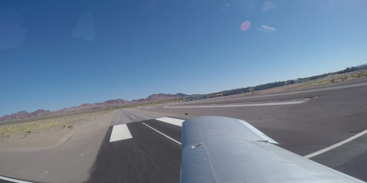 Small Plane Taking Off - Passenger POV