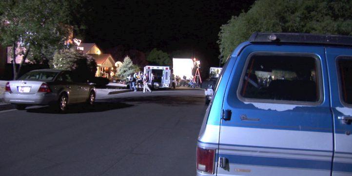 Ambulance On Movie Set