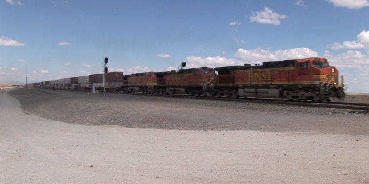 Freight Train - New Mexico #26
