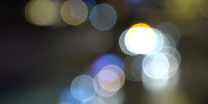 unfocused lights, car lights, background
