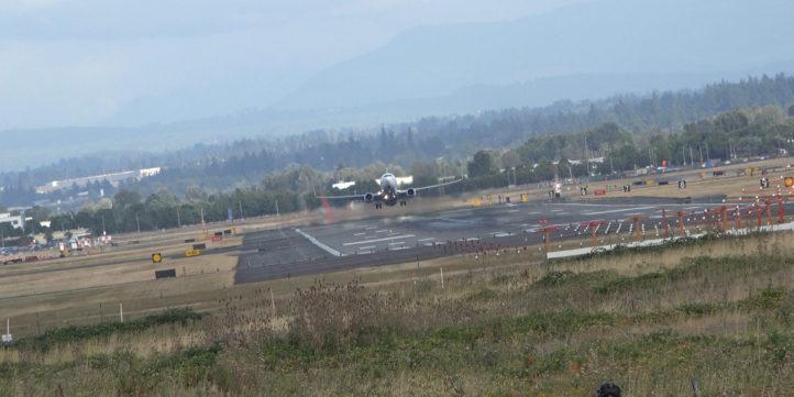 Passenger Plane Runway Takeoff