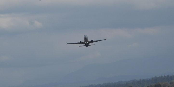 Passenger Plane Takeoff #100